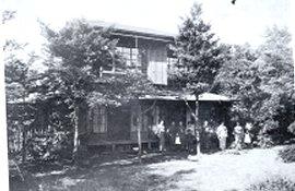 女子患者さんために借りた丸山の家